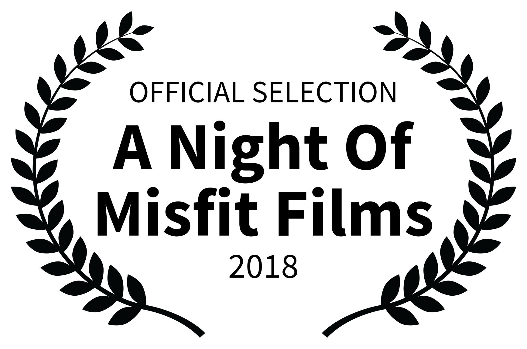OFFICIAL SELECTION - A Night Of Misfit Films - 2018