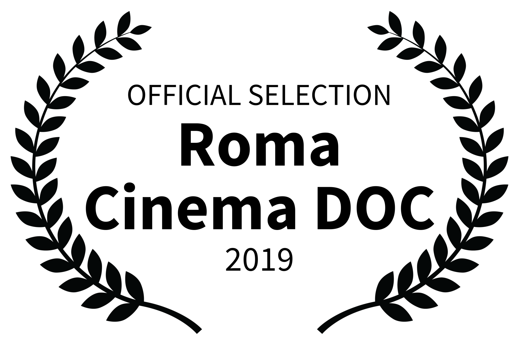 OFFICIAL SELECTION - Roma Cinema DOC - 2019