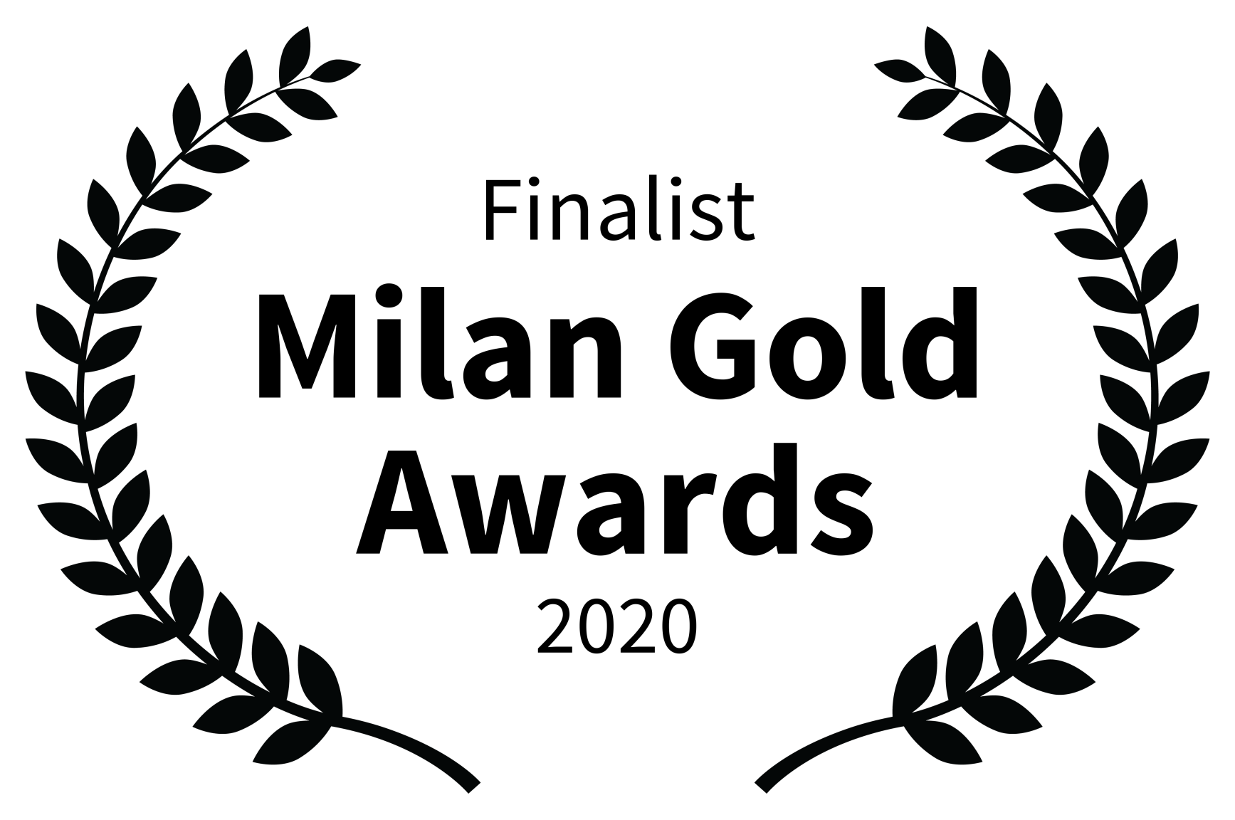 Finalist - Milan Gold Awards - 2020