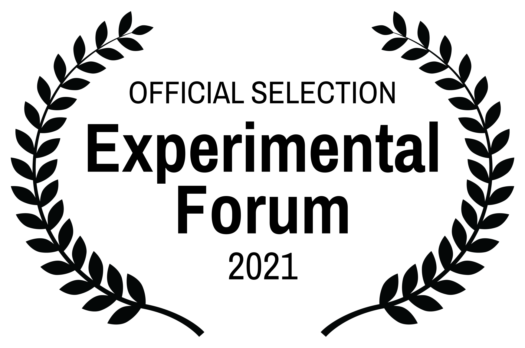OFFICIAL SELECTION - Experimental Forum - 2021